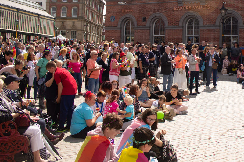 Stockport Pride 2018 Crowd